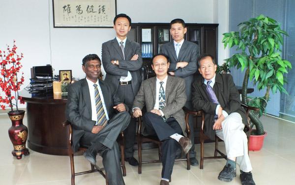 公司核心领导团队